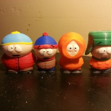 Picture of print of South Park - Cartman, Stan, Kyle and Kenny Set Cet objet imprimé a été téléchargé par Junior General