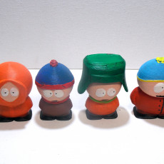Picture of print of South Park - Cartman, Stan, Kyle and Kenny Set