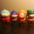 South Park - Cartman, Stan, Kyle and Kenny Set image
