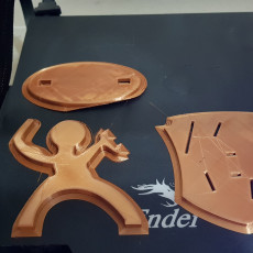 Picture of print of Spartan Knife Stand