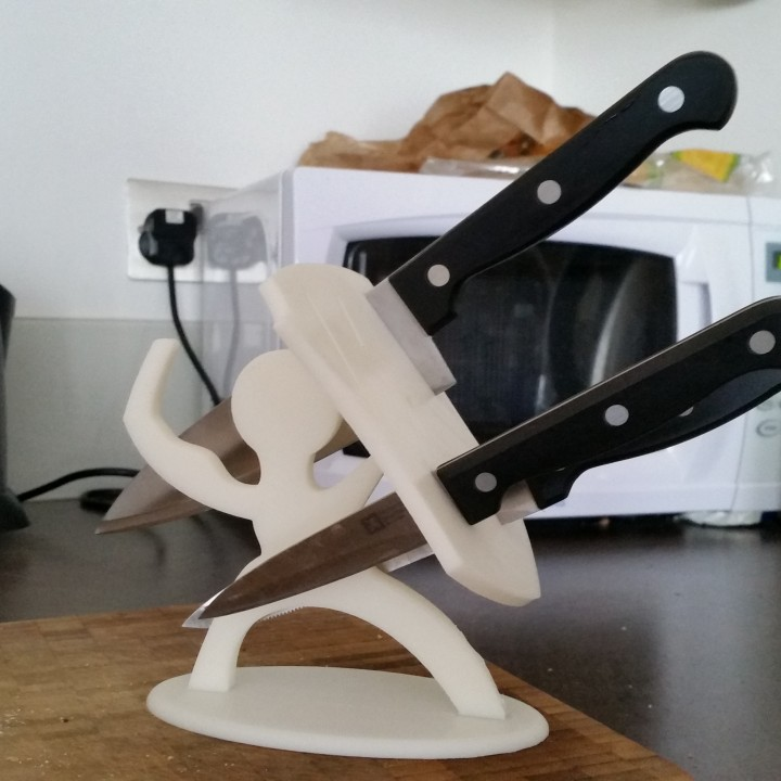 Spartan Knife Stand