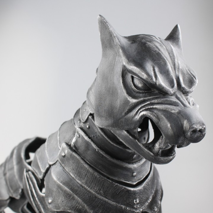 Hound's Helm Inspired Dog Armour