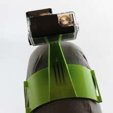 GoPro leg mount for snowboarding