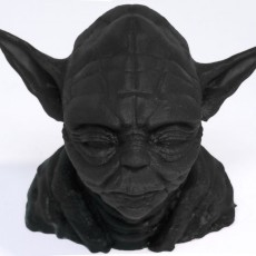 Picture of print of Yoda's Head