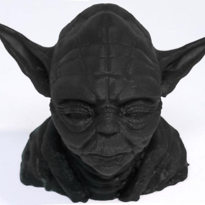 Picture of print of Yoda's Head Esta impresión fue cargada por 3Devised