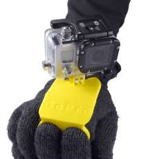 Active sport two finger GoPro holder for extreme conditions