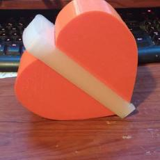 heart shaped box with clip