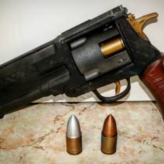 Picture of print of Hellboy's Handgun - Good Samaritan