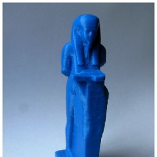 Picture of print of Nile God Hapy at The British Museum, London This print has been uploaded by adv51