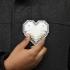 Pixel Heart Pendant print image