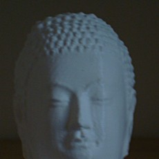 Picture of print of Head of a Buddha at the Metropolitan Museum of Art, New York