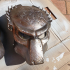 Predator Wolf Mask - Alien Vs Predator Requiem print image