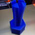 Impossible 3D-printed bolt and nut print image