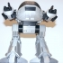 ED209 from Robocop print image