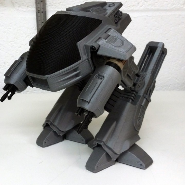 Picture of print of ED209 from Robocop This print has been uploaded by Gregory L Holloway