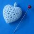 Organic Heart print image