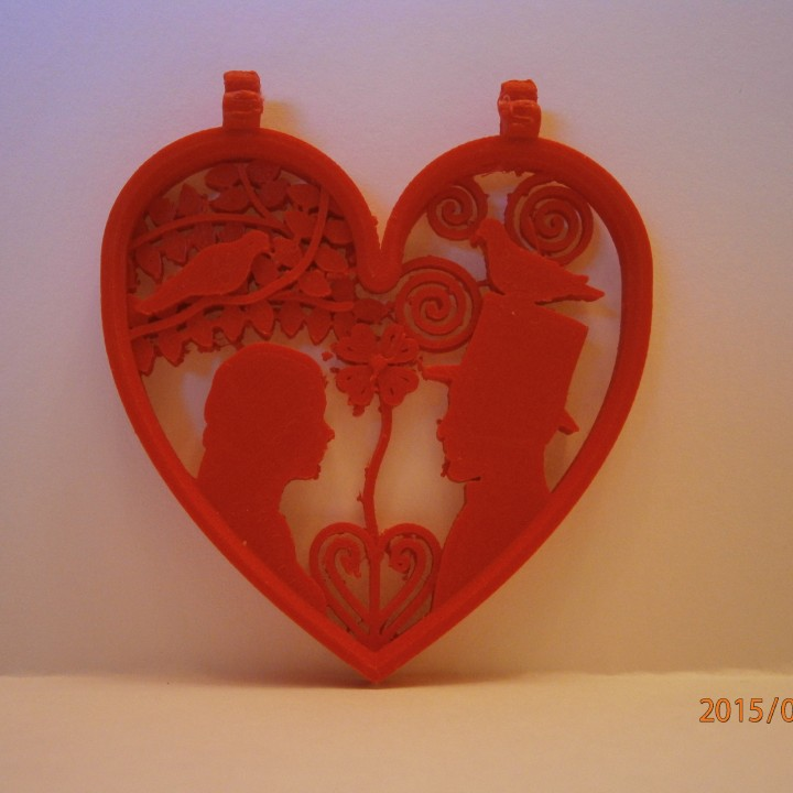 Valentine's day - Heart pendant