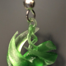 Picture of print of earring or pendant twist