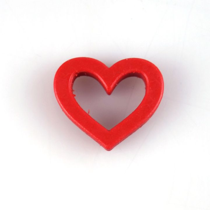 Heart Frame Brooch