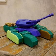 Halo Rhino Tank - Fully Articulated Model Kit