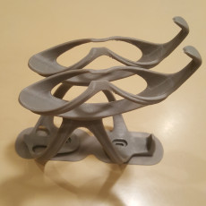 Picture of print of NanaBotCage™ (cycle water/banana holder)
