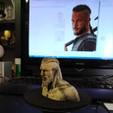 Picture of print of Ragnar Lothbrok
