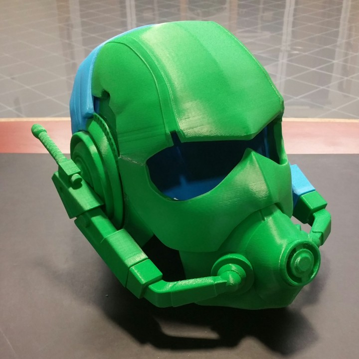 Picture of print of Ant-Man Helmet Wearable This print has been uploaded by omero