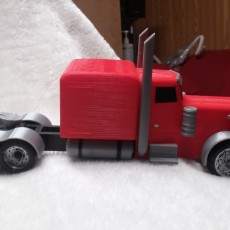 Picture of print of Peterbilt Model Truck