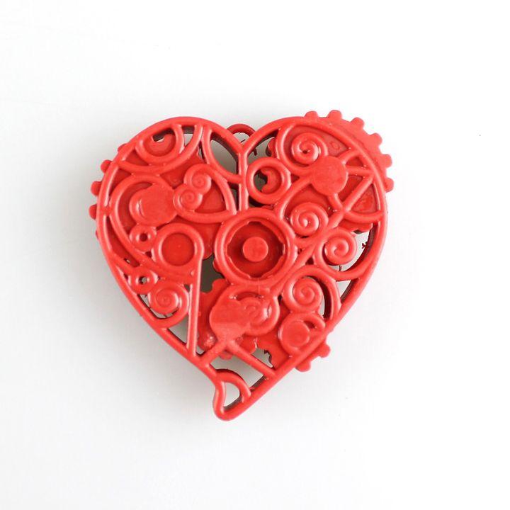 3d printable clockwork heart by 3dna. Black Bedroom Furniture Sets. Home Design Ideas