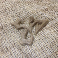 Picture of print of tidus' pendant-Final Fantasy X