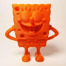 The funny Sponge Bob - Keychain/pendant