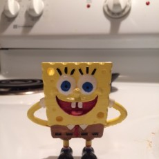 Picture of print of The funny Sponge Bob - Keychain/pendant 这个打印已上传 John Durrell