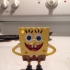 The funny Sponge Bob - Keychain/pendant print image