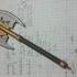 Gimli's Battle Axe - Ballpoint Combat Pen print image