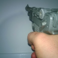 Picture of print of P08 Luger - Functional Assembly