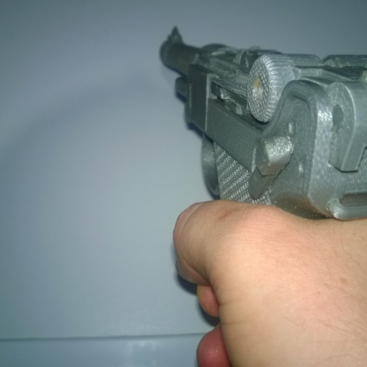 Picture of print of P08 Luger - Functional Assembly This print has been uploaded by Aleksey Kazakulov
