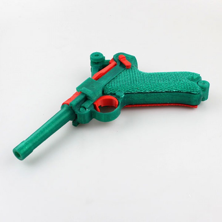 P08 Luger - Functional Assembly