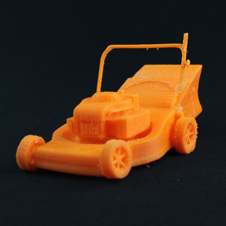 RC Mayhem Garage Lawnmower