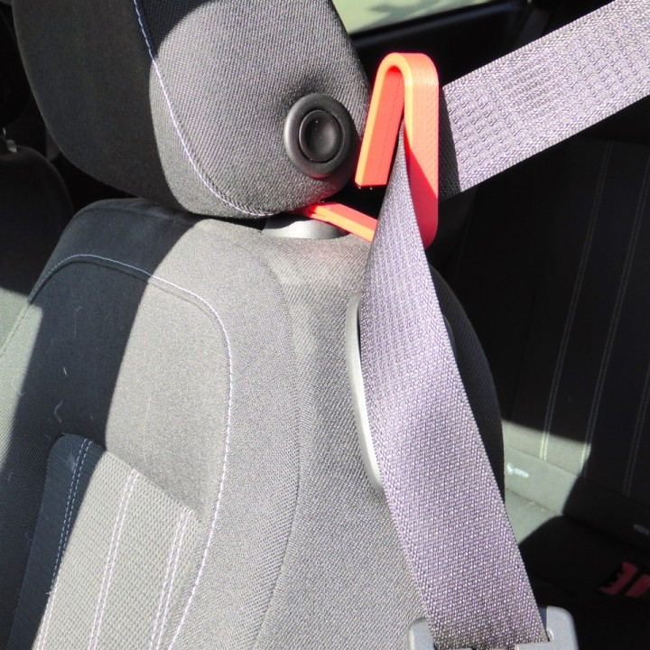 Easy Reach Seatbelt