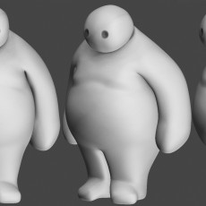 Picture of print of obese