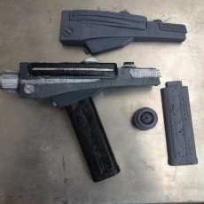 Picture of print of Star Trek Phaser