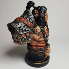 Picture of print of Grommash Hellscream Bust (World of Warcraft)