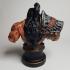 Grommash Hellscream Bust (World of Warcraft) print image