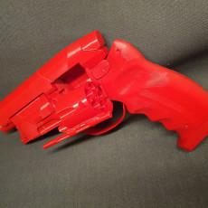 Picture of print of Deckards Blaster - Blade Runner