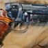 Deckards Blaster - Blade Runner print image