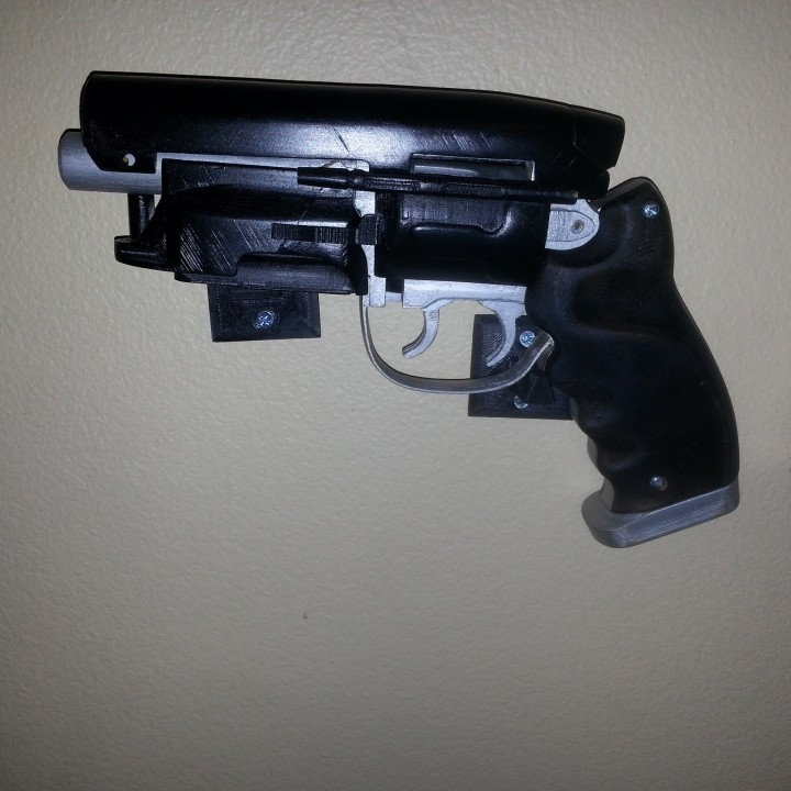 Picture of print of Deckards Blaster - Blade Runner This print has been uploaded by Raymond Hebert