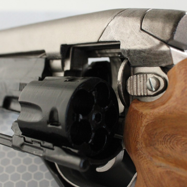 Picture of print of Deckards Blaster - Blade Runner This print has been uploaded by Q-Rio 3D Printing