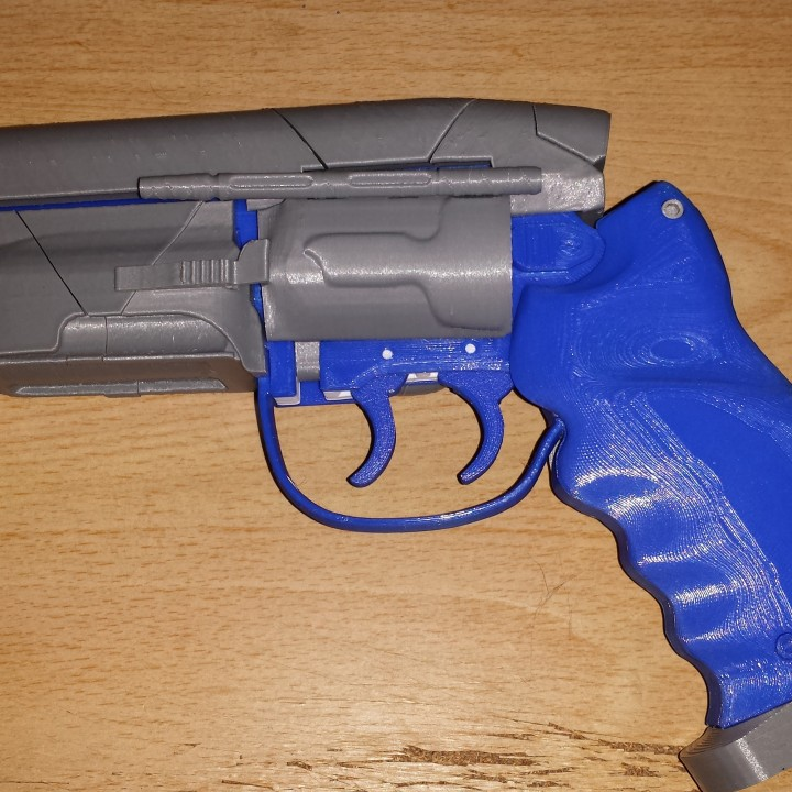 Picture of print of Deckards Blaster - Blade Runner This print has been uploaded by Aaron Brown