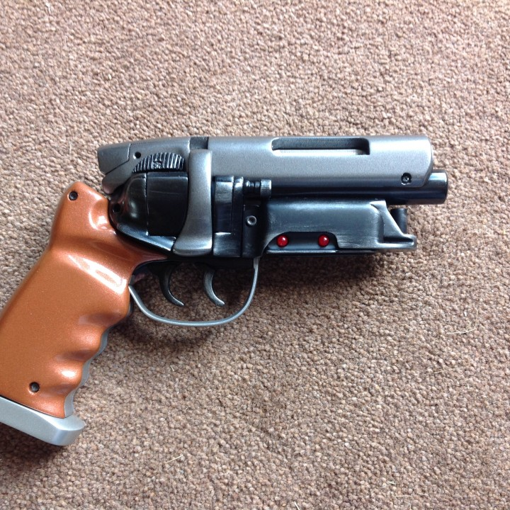 Picture of print of Deckards Blaster - Blade Runner This print has been uploaded by Colin catchpole