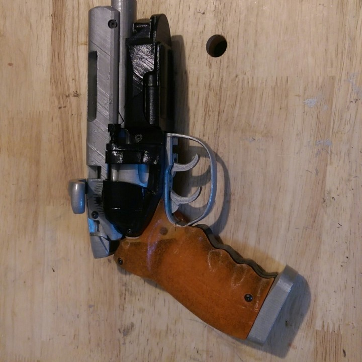 Picture of print of Deckards Blaster - Blade Runner This print has been uploaded by Ron A Goldberg